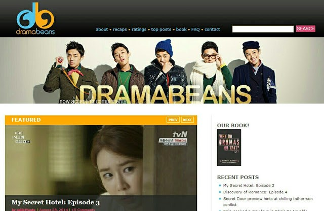 dramabeans website
