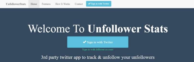 unfollow stats twitter tool