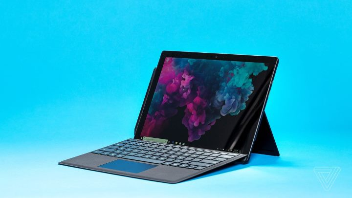 Microsoft Surface Pro 6 tablet device