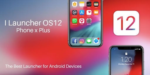 iLauncher OS 12 - best iOS launcher for android