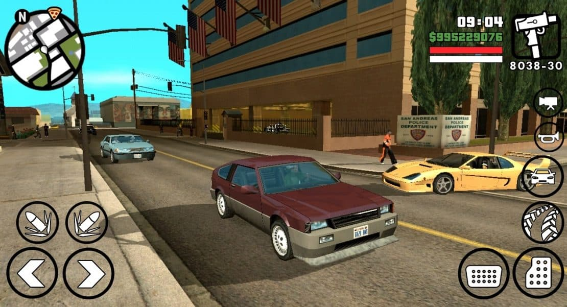 200MB] Download GTA San Andreas Lite APK + Data Obb For Android