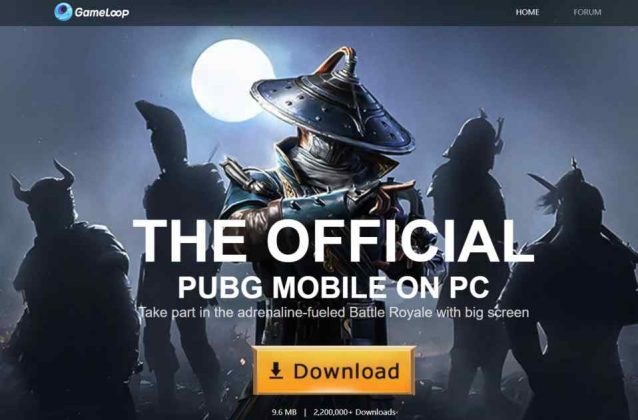 Gameloop Official PUBG Emulator
