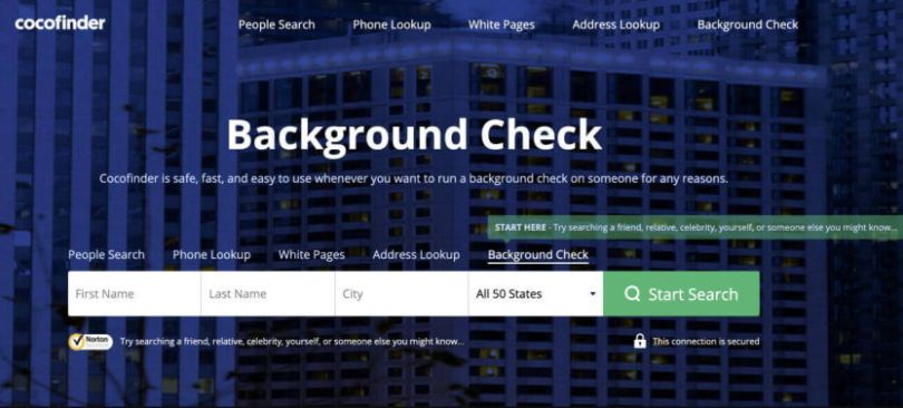 Cocofinder Background check