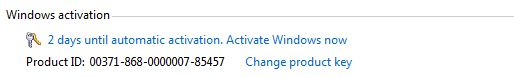 Activate Windows