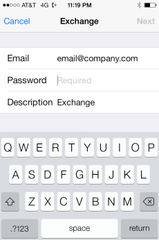 Email Address Info