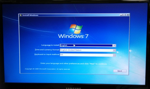 Windows 7 Recovery