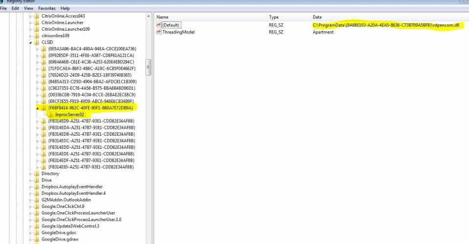Registry Key
