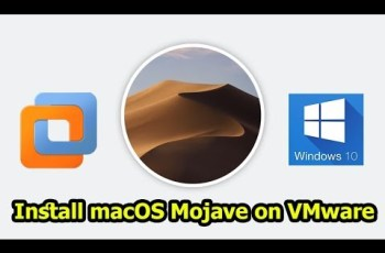 How to Install macOS Mojave 10.14 on VMware Windows 10