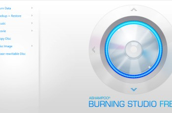 How to rip files on CD/DVD using - Ashampoo burning studio
