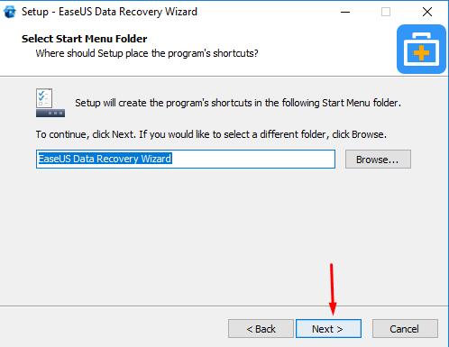 installEaseUS Data Recovery Wizard