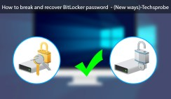 How to break and recover BitLocker Password - (New ways)