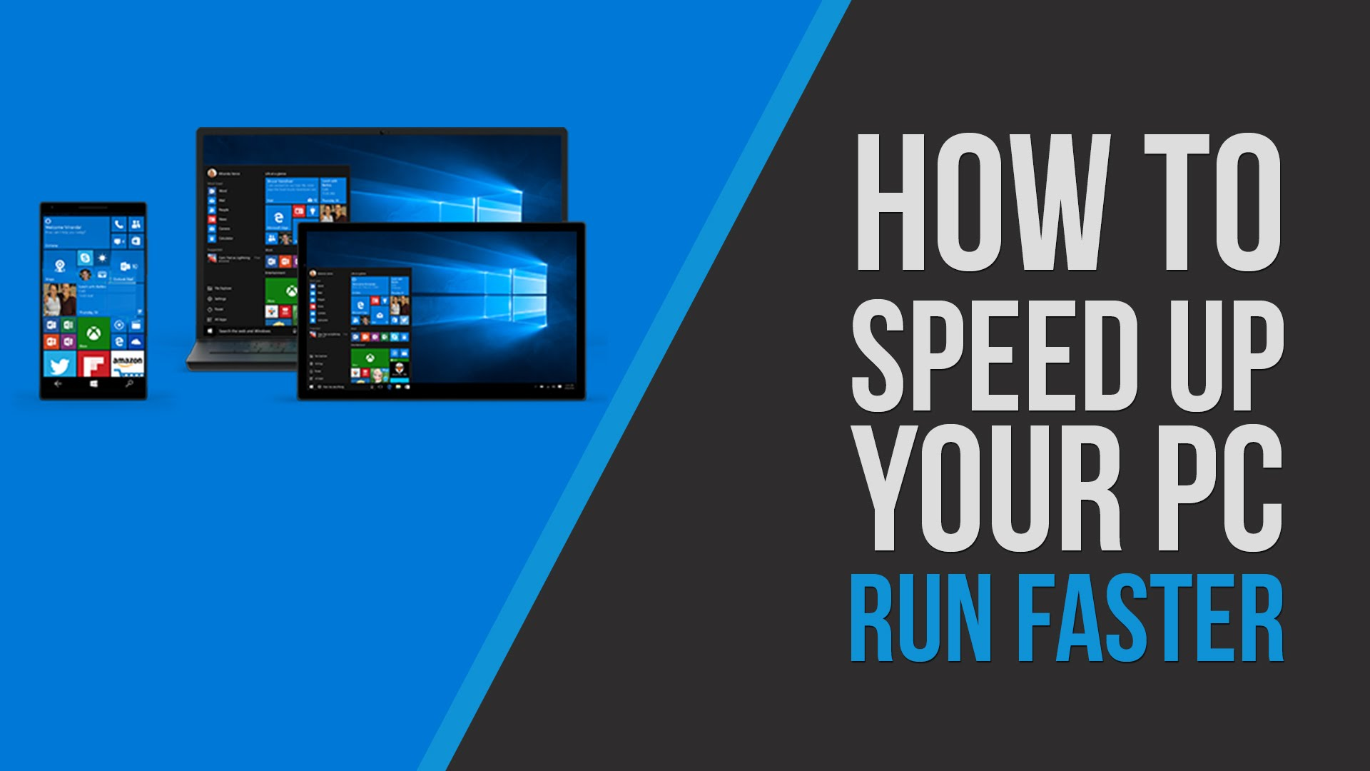 speed up windows 10 | some tips to speed your Windows and