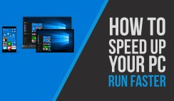 speed up windows 10, and boost up your hard drive
