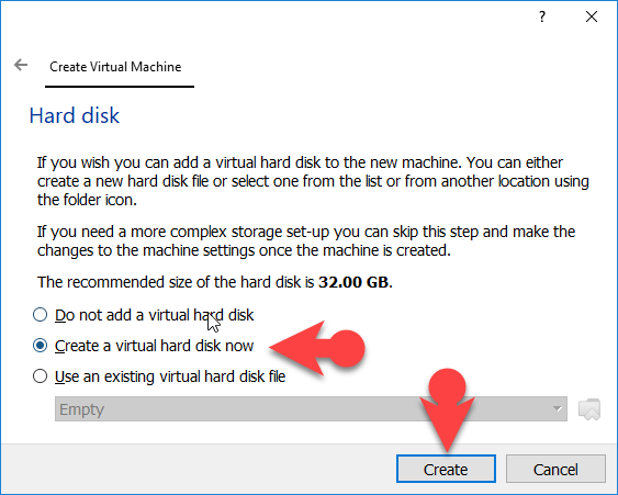 select create New virtual disk