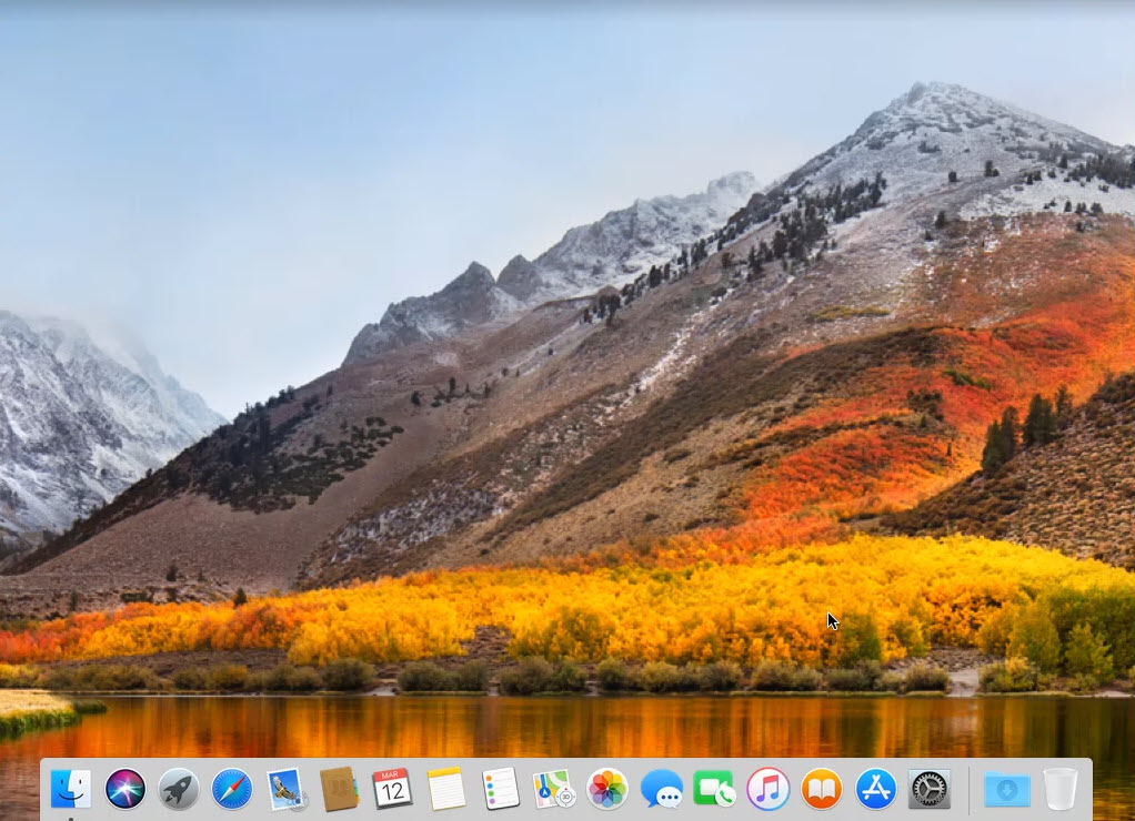 MacOS High Sierra wallpaper