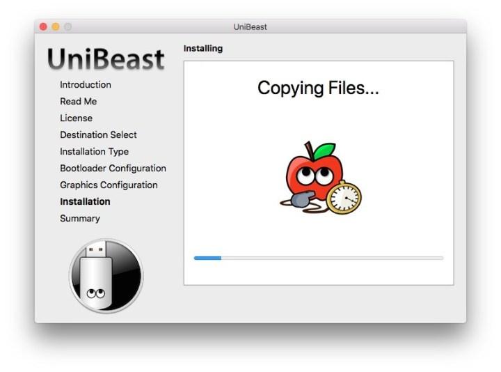 Copying MacOS Mojave files to USB