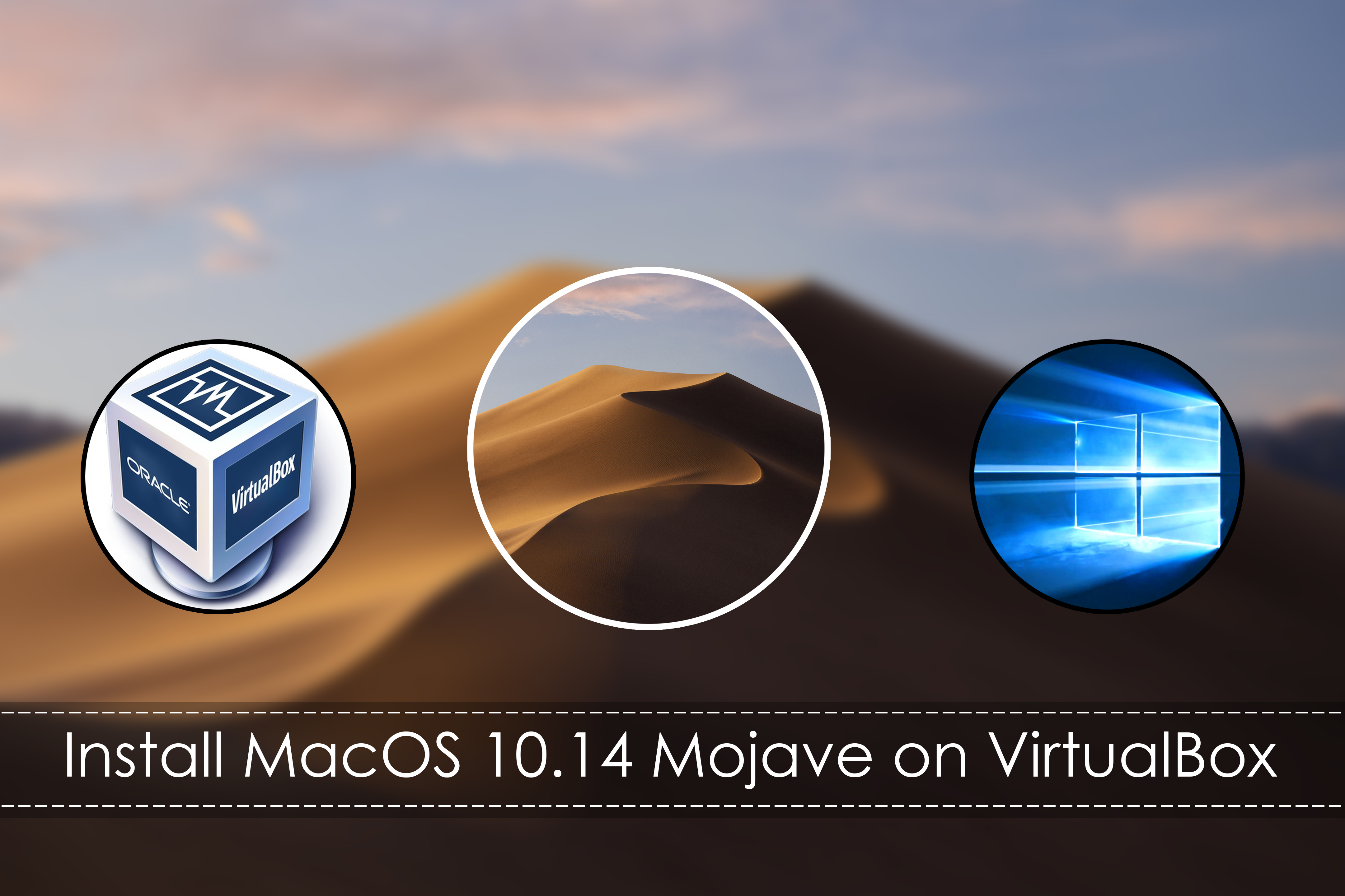 How to install MacOS Mojave on VirtualBox and – Windows