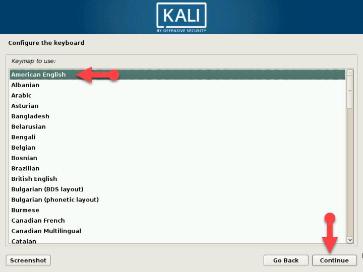 Configure your keyboard