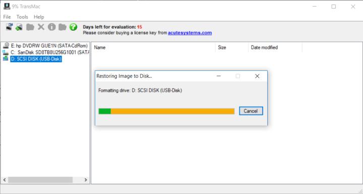 Copying Mac OS EL Capitan File to USB