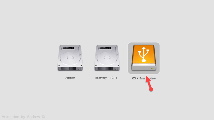 Select OS X base system