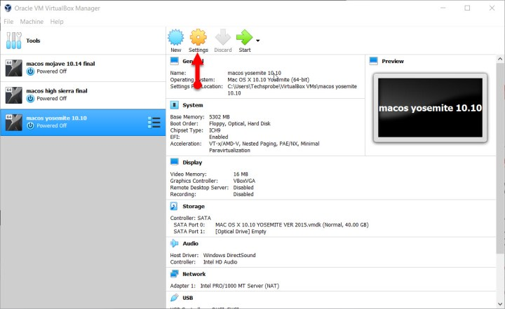 How to install Mac OS X Yosemite 10 10 on VirtualBox on Windows
