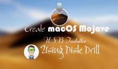 How to create MacOS Mojave USB installer with Disk Drill