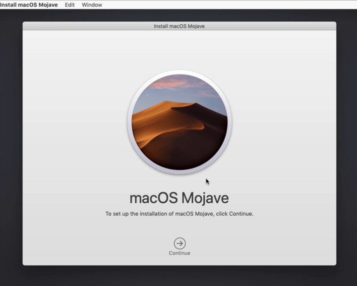 Install macOS Mojave on Parallels Desktop