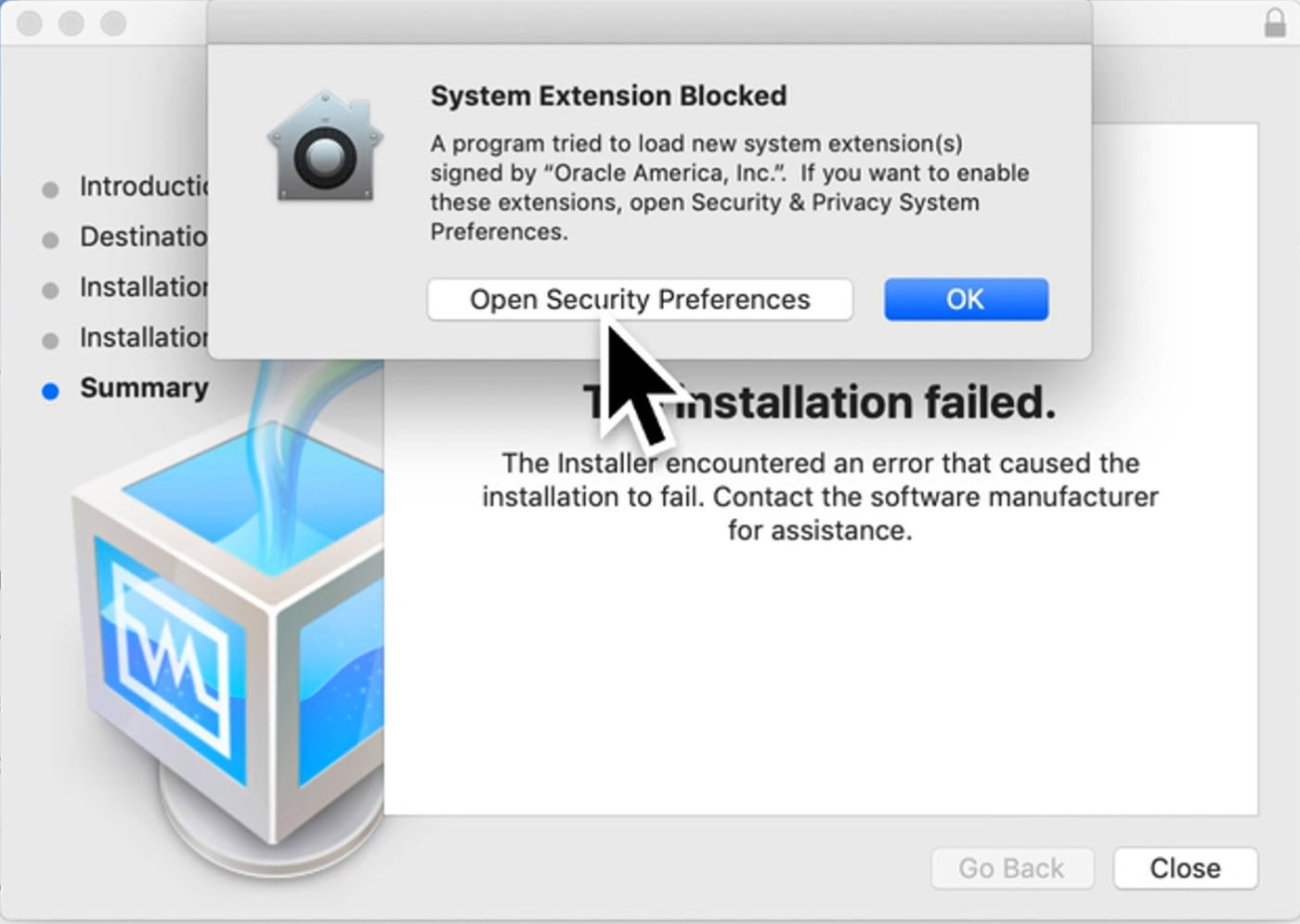 System Extension is Blocked
