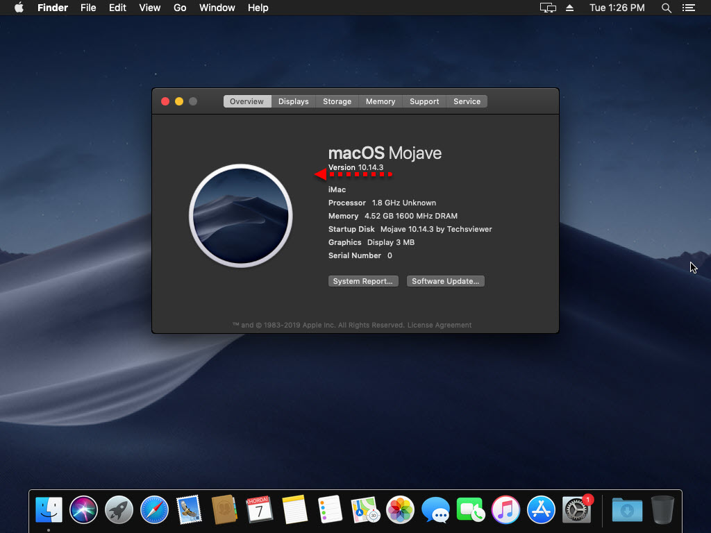 Upgrade macOS Mojave on VirtualBox to the latest version