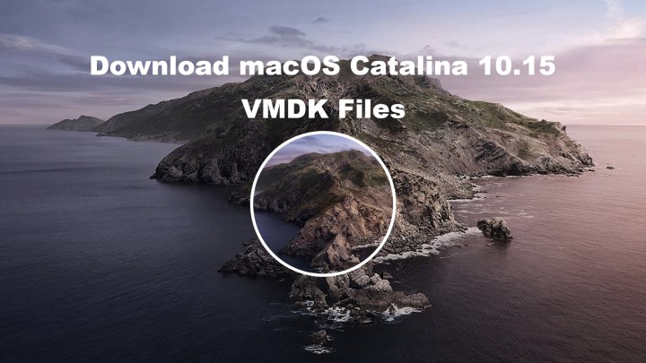 Download macOS Catalina 10.15 VMDK Files