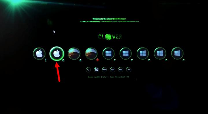Boot macOS Catalina from Macintosh HD