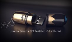 How to Create a GPT Bootable USB with cmd
