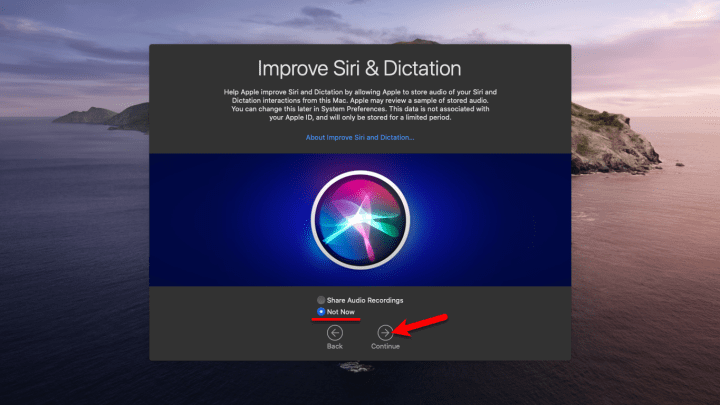 Improve Siri & Dictation