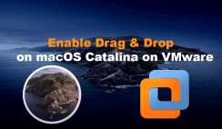 How to Enable Drag & Drop on macOS Catalina on VMware