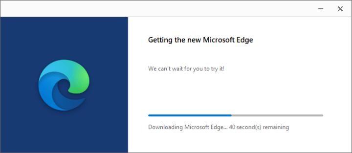 Installing Edge Chromium