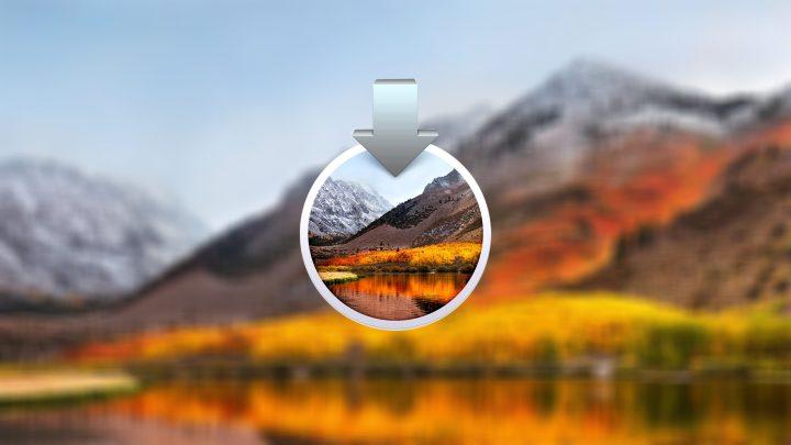 Download macOS High Sierra 10.13.6 DMG file - Full