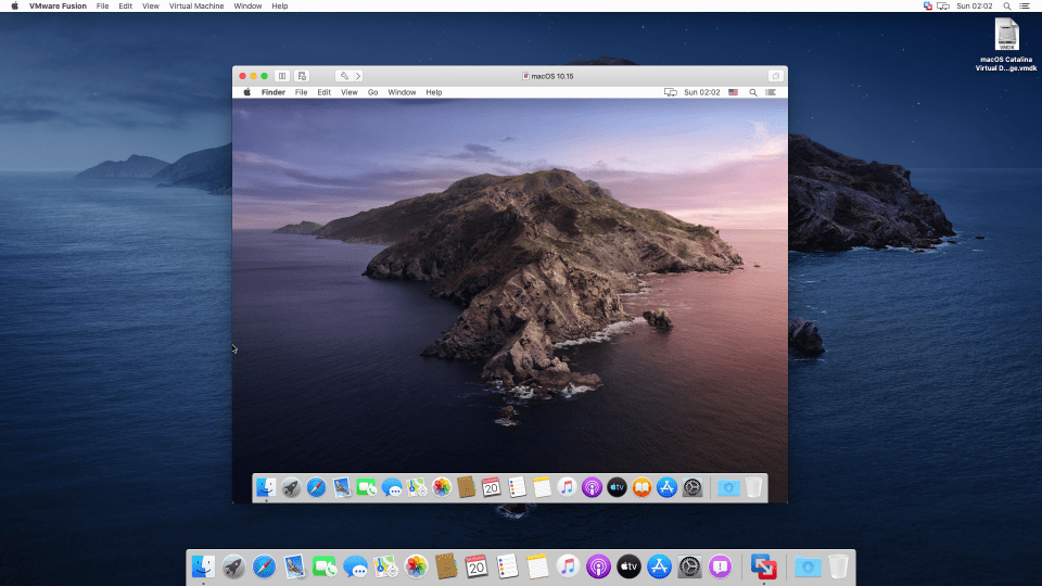 How to Install macOS Catalina 10.15 on VMware Fusion on macOS