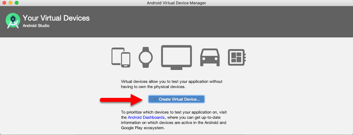 Create Virtual Devices