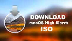 Download macOS High Sierra ISO For VMware and Virtualbox