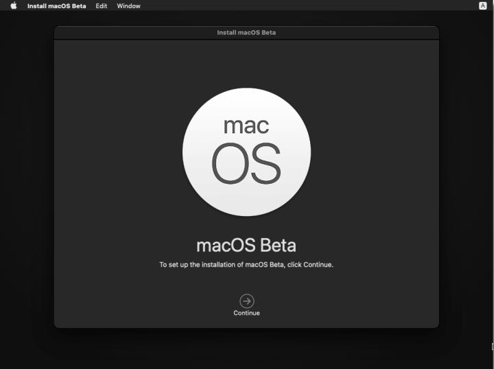 Continue macOS