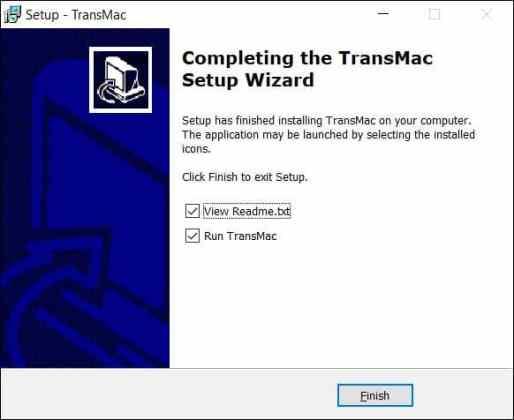 Transmac installed