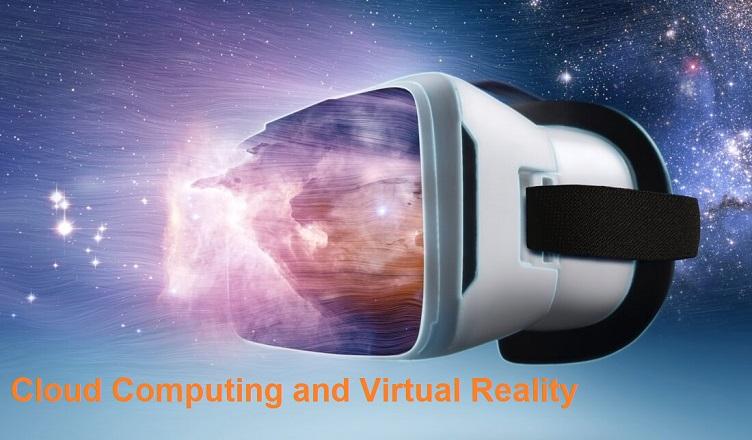 Cloud computing and virtual reality