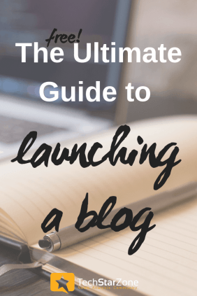 free ultimate blog launch guide blogging startup