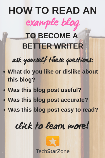 how to read example blog writing