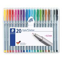 Staedtler Triplus Fineliner Pens, .3mm