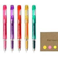 Platinum Preppy Rainbow Fountain Pen Set