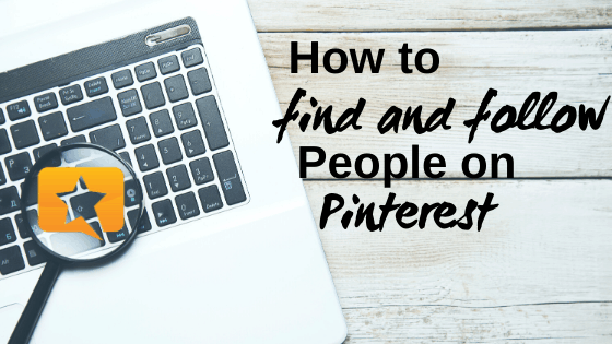 how to find people on Pinterest