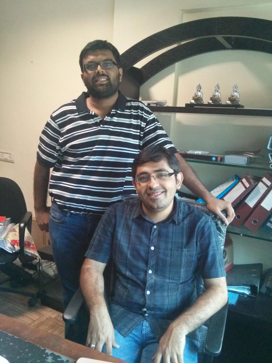 Co-Fouders Mehul Jobanputra and Jimish Jobanputra