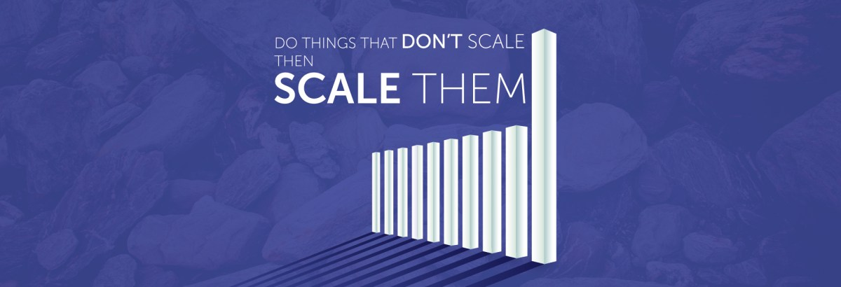 how to start a startup scaling
