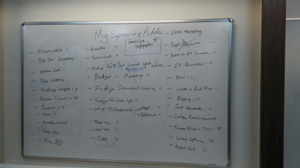 mysportsadda design board